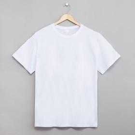 T-shirt man's color white, solution 54