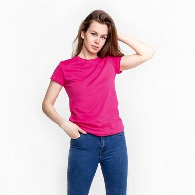 Футболка женская цвет розовый, р-р 52