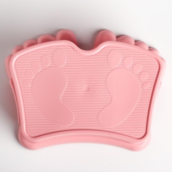 Подставка детская Ора, цвет нежно-розовый