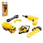 """A set of tools """"Master truck"""", 7 items, mix"""