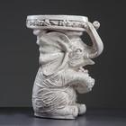 "Фигура - подставка ""Слон сидя"" 35х25х44см, состаренный"