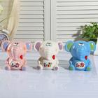 "Piggy Bank ceramic ""Elephant ears in the box"" MIX 11х11х7 cm"