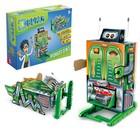 Электронный конструктор «Робот», 2 в 1, работает от батареек