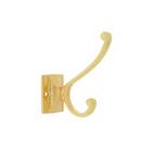 Крючок мебельный, KM222GP, цвет золото