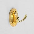Крючок мебельный, KM223GP, цвет золото