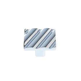 Ручка кнопка TUNDRA РК032CP, цвет хром