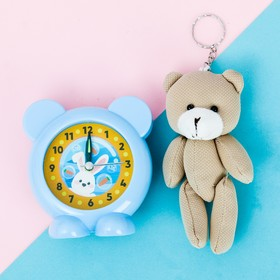 "Set the alarm clock, soft toy ""Hare"""