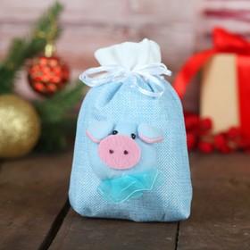"""Gift bag """"piggy"""" MIX color, capacity 200 g"""