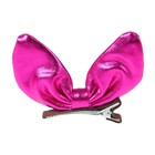 """Carnival clip """"Bow"""", color fuchsia"""
