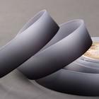 Лента репсовая «Градиент», 25 мм, 18 ± 1 м, цвет чёрный