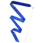 Gymnastics ribbon with wand 6 m, colour blue