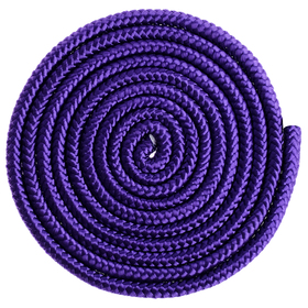 Skipping rope for gymnastics 3 m, color purple
