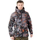 Куртка PAYER «Трек», полофлис, матрица, размер 60-62, рост 170-176