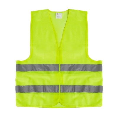 High-visibility jackets, reflective class 2, 2XL, lime green, GOST
