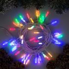 """Гирлянда """"Нить"""" с насадками """"Звёздочка"""", 5 м, LED-50-220V, 8 режимов, нить прозрачная, свечение мульти 2361621"""