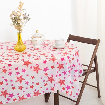 Tablecloth to give the hostess of the Star 160×160 cm