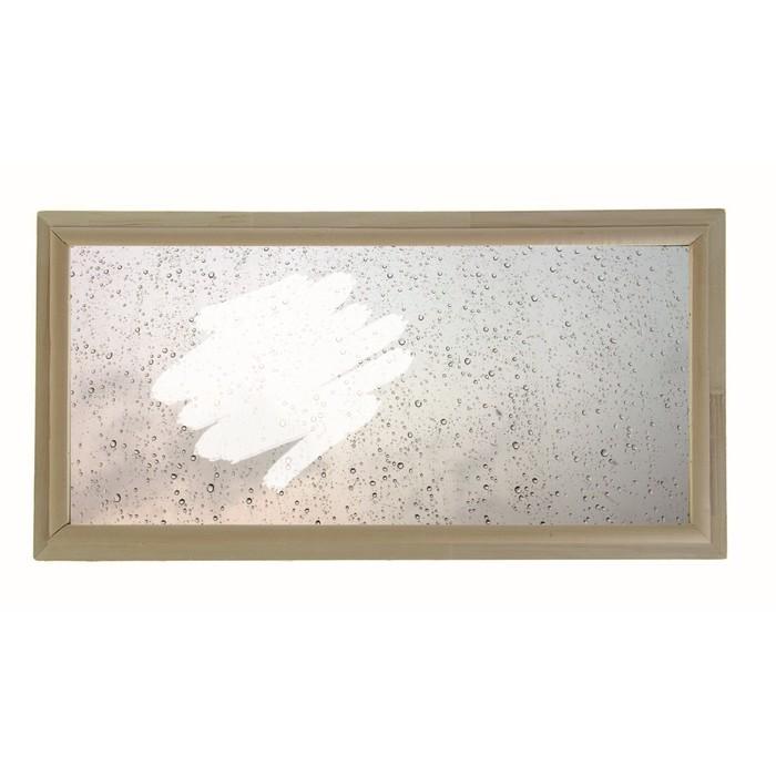 Окно глухое 30х60см, Декор 1, двойной стеклопакет  Добропаровъ
