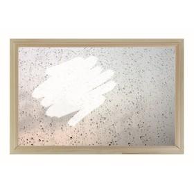 Окно глухое 40х60см, Декор 1, двойной стеклопакет  Добропаровъ Ош