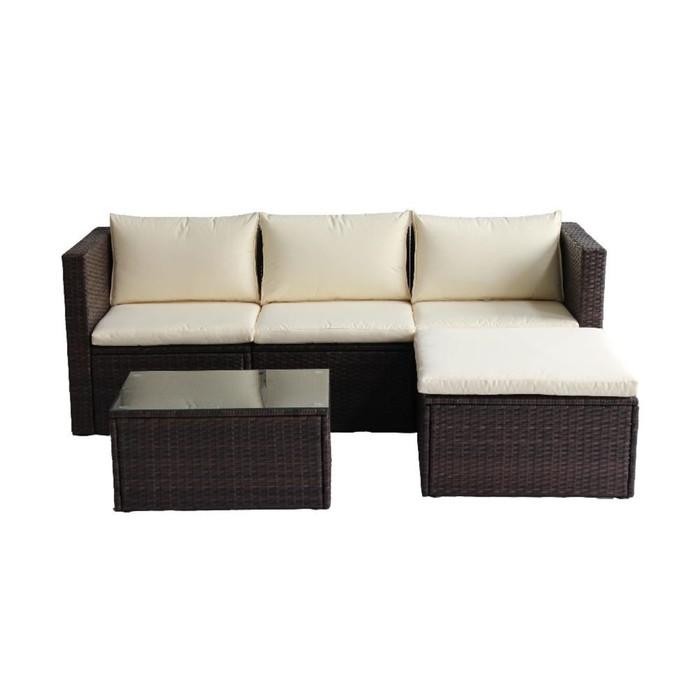 Комплект EMPIRE (угловой диван + кофейный стол)