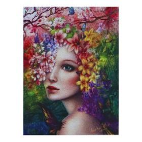 Картина стразами 'Девушка-весна' Ош