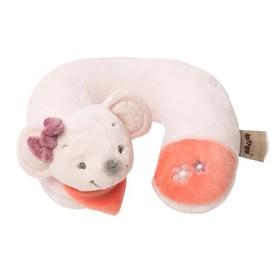 Подушка-подголовник Nattou Neck pillow Adele & Valentine «Мышка» 424370 Ош
