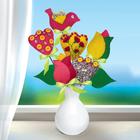 """Букет из фетра, набор для создания """"Тюльпаны"""""""