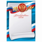 """Благодарнное письмо """"Российская символика"""""""