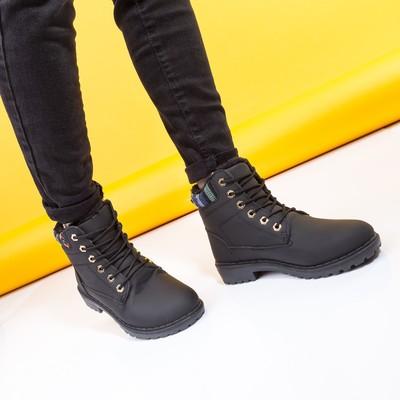 Ботинки женские A-12 MINAKU черный р. 39