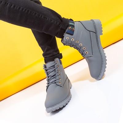 Ботинки женские A-12 MINAKU серый р. 41