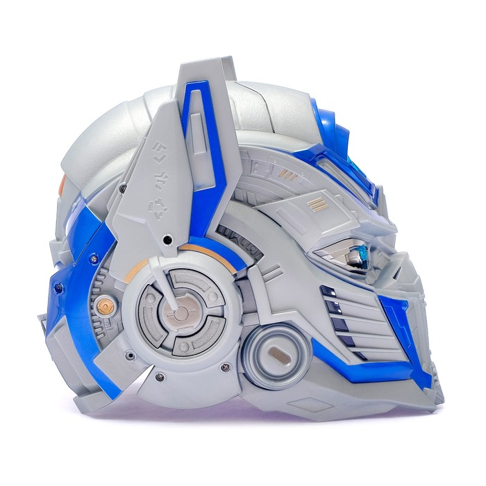 Шлем трансформера «Автобот Оптимус», преобразование голоса, световые эффекты, работает от батареек - фото 14370692
