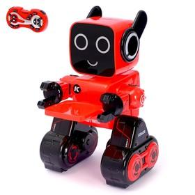 Робот радиоуправляемый, интерактивный «Вилли», световые и звуковые эффекты, работает от аккумулятора, цвета МИКС