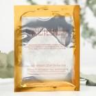 """Гидрогелевая маска для лица Collagen Crystal """"Коллаген и бриллиантовая пудра"""" антивозрастная, белая, 60 г"""