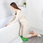 Коврик для коленей «Листья» в ванну, размер 39×17,5 см - фото 105492226