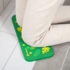 Коврик для коленей «Листья» в ванну, размер 39×17,5 см - фото 105492227
