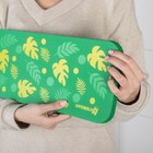 Коврик для коленей «Листья» в ванну, размер 39×17,5 см - фото 105492229