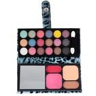 Набор декоративной косметики: тени 18 цв, румяна 2 цв, пудра 2, зеркало, аппликатор