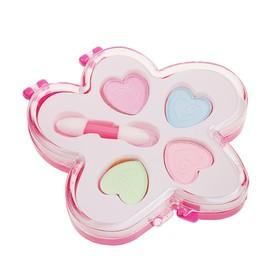Набор косметики для девочки 'Цветочек' тени 4 цвета, аппликатор Ош