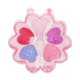 Набор косметики для девочки 'Цветочек малый' тени 4 цвета, аппликатор Ош