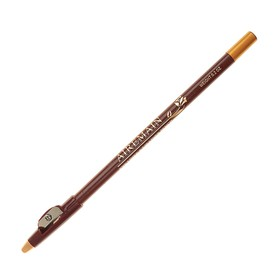 Airemain pencil, with sharpener, dark brown No. 2.