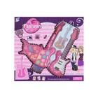 Набор для девочек Гитара ( 8 теней, аппликатор, 7 блесков для губ, помада)