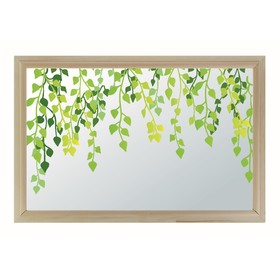 Окно глухое 40х60см, Декор 2, двойной стеклопакет  Добропаровъ Ош