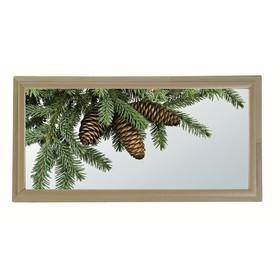 Окно глухое 30х60см, Декор 3, двойной стеклопакет  Добропаровъ Ош