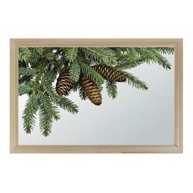 Окно глухое 40х60см, Декор 3, двойной стеклопакет  Добропаровъ Ош