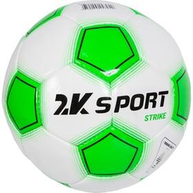 Мяч футбольный 2K Sport Strike white/green/black, размер 5
