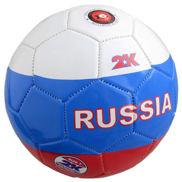 Мяч сувенирный 2K Sport Patriot white/royal/red, размер 1