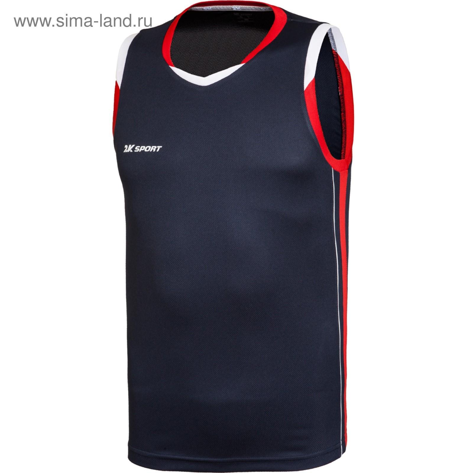 9fd976d2 Баскетбольная игровая майка 2K Sport Advance navy/red/white, XS ...