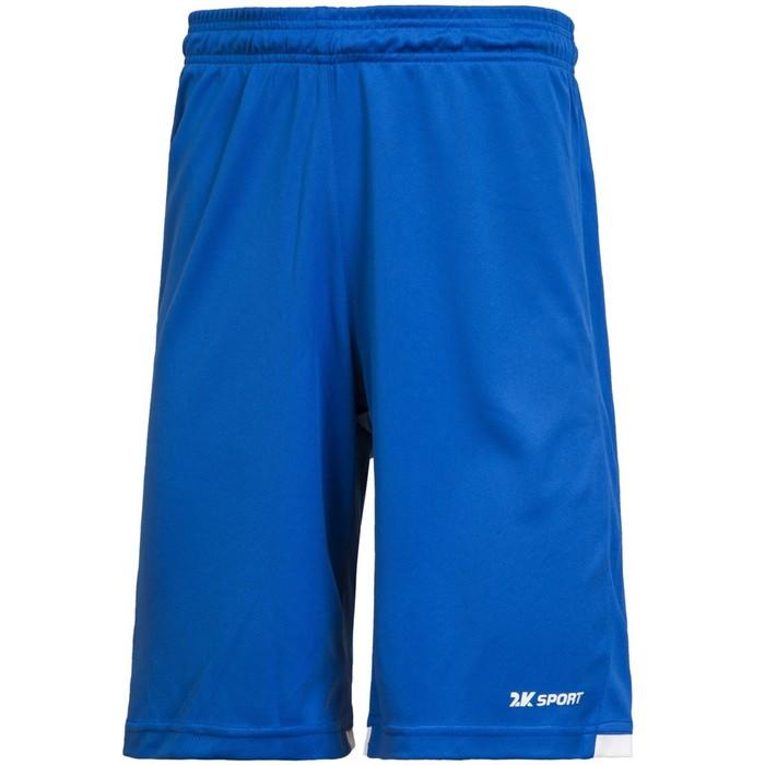 Баскетбольные игровые шорты 2K Sport Rebound royal/white, M
