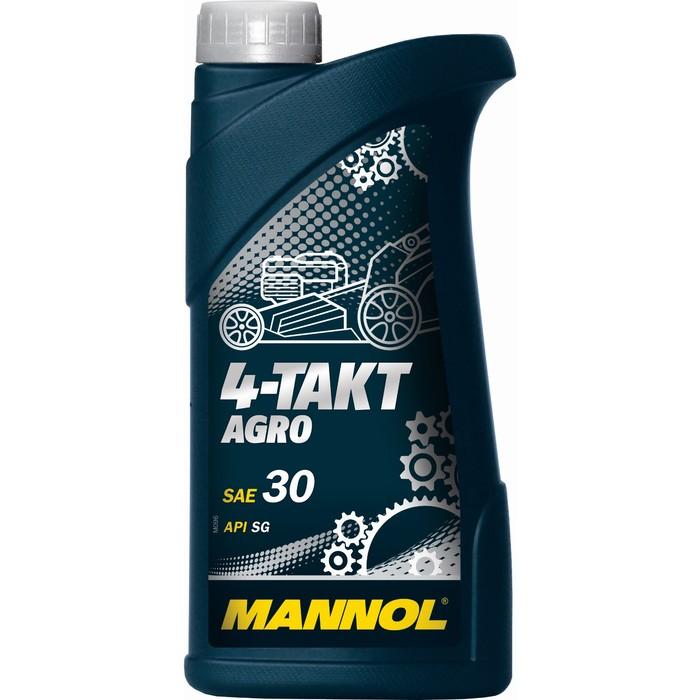 Масло моторное MANNOL 4T AGRO SAE 30, 1л
