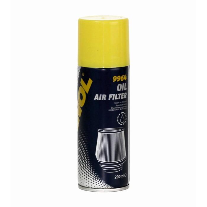 Пропитка воздушных фильтров масляная MANNOL Luftfilteroel / Air Filter Oil 9964, 200 мл