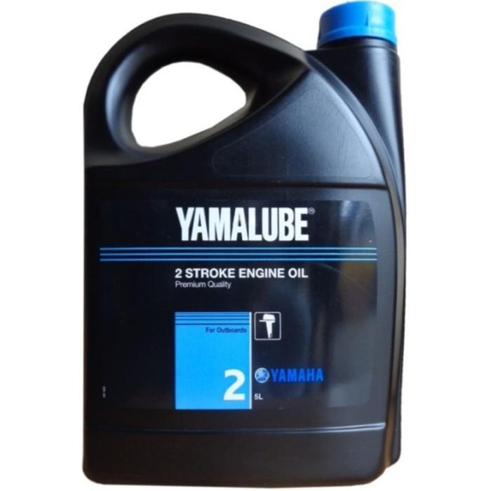 Моторное масло 2-х тактное минеральное Yamalube 2 TC-W2, 5 л, 90790BG20200
